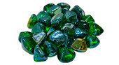 American Fyre GLD-10-E Peterson Emerald Diamond Nuggets Fire Glass
