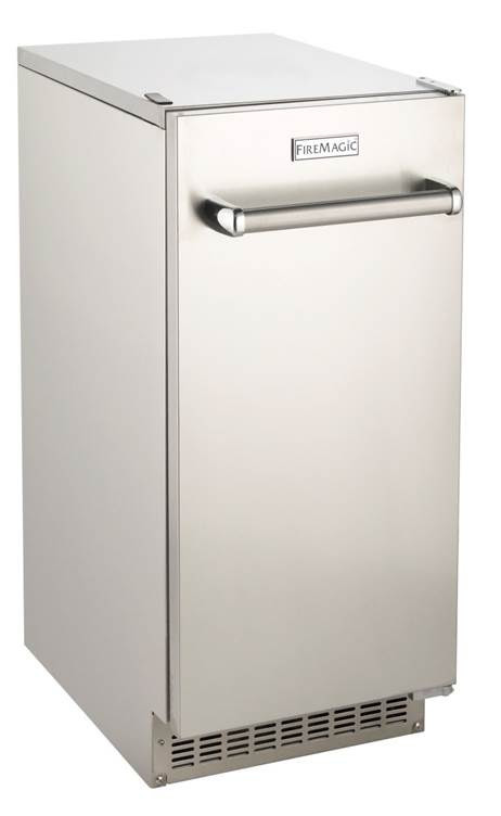 """Fire Magic 15"""" Stainless Steel Ice Maker"""