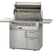 "Alfresco ALXE 36"" Grill on Deluxe Cart"
