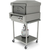 Alfresco 30 inch Pizza Cart