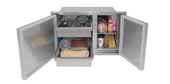 "ADSP2-42L Alfresco Low Profile Pantry | 21"" Height"