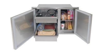 Alfresco Outdoor Kitchen Pantry