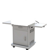 Pacific Living Pizza Oven Cart