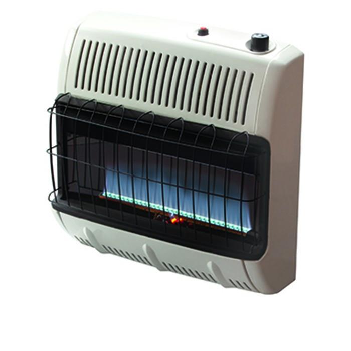 HeatStar Vent Free Natural Gas Blue Flame Heater, TSTAT