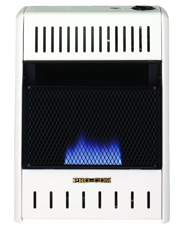 Pro Com blue flame heater