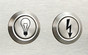 Stainless steel push-buttons for ignition
