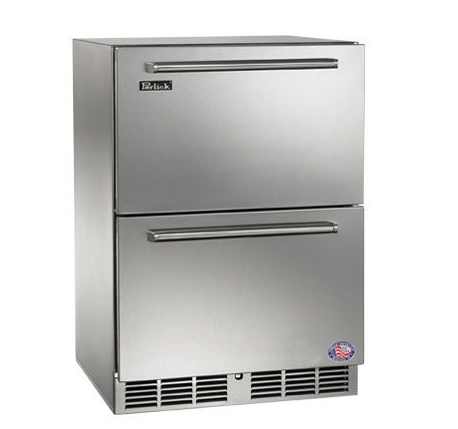 Perlick 24 inch Outdoor Freezer/Refrigerator Drawers
