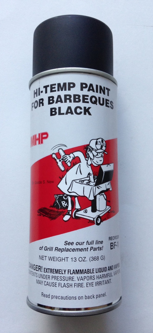 high temperature black grill paint