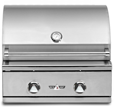 Delta Heat 26 Quot Built In Grill With No Rotisserie Dhbq26g D