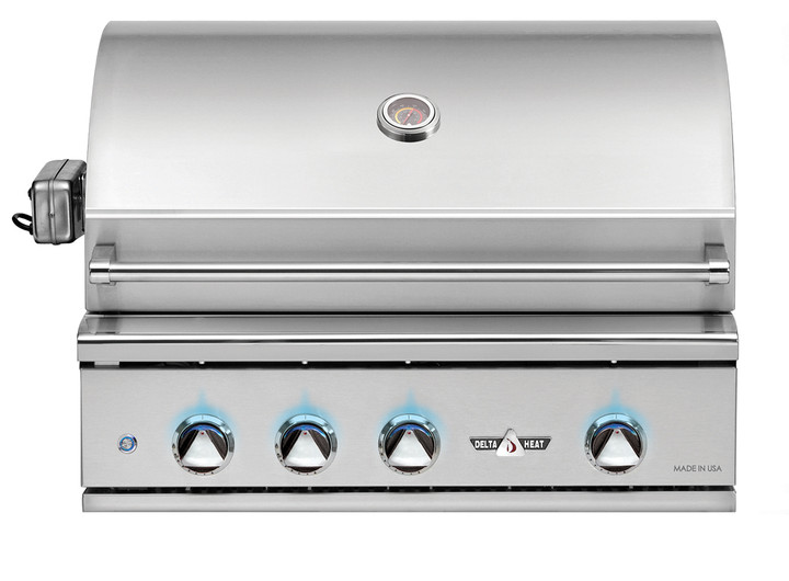 """delta heat 32"""" grill with rotisserie"""
