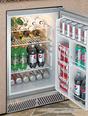 """delta heat 20"""" refrigerator interior"""