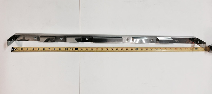 Kenmore and Brinkmann burner rail with Tape Measure