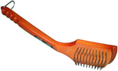 Grill Brush with Wooden Handle