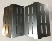 Weber heat deflectors