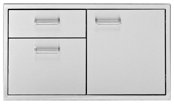 Delta Heat Door, 2 Drawer Combo