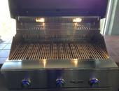 delta freestanding grill