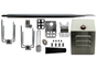 "45"" Stainless Rotisserie Spit Kit w/ Heavy Duty Electric Motor"