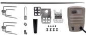 Universal 53? x 1/2? Hexagon Rotisserie Spit Kit w/ Electric Motor