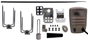"""Universal 45"""" x 1/2"""" Stainless Rotisserie Spit Kit w/ Electric Motor"""