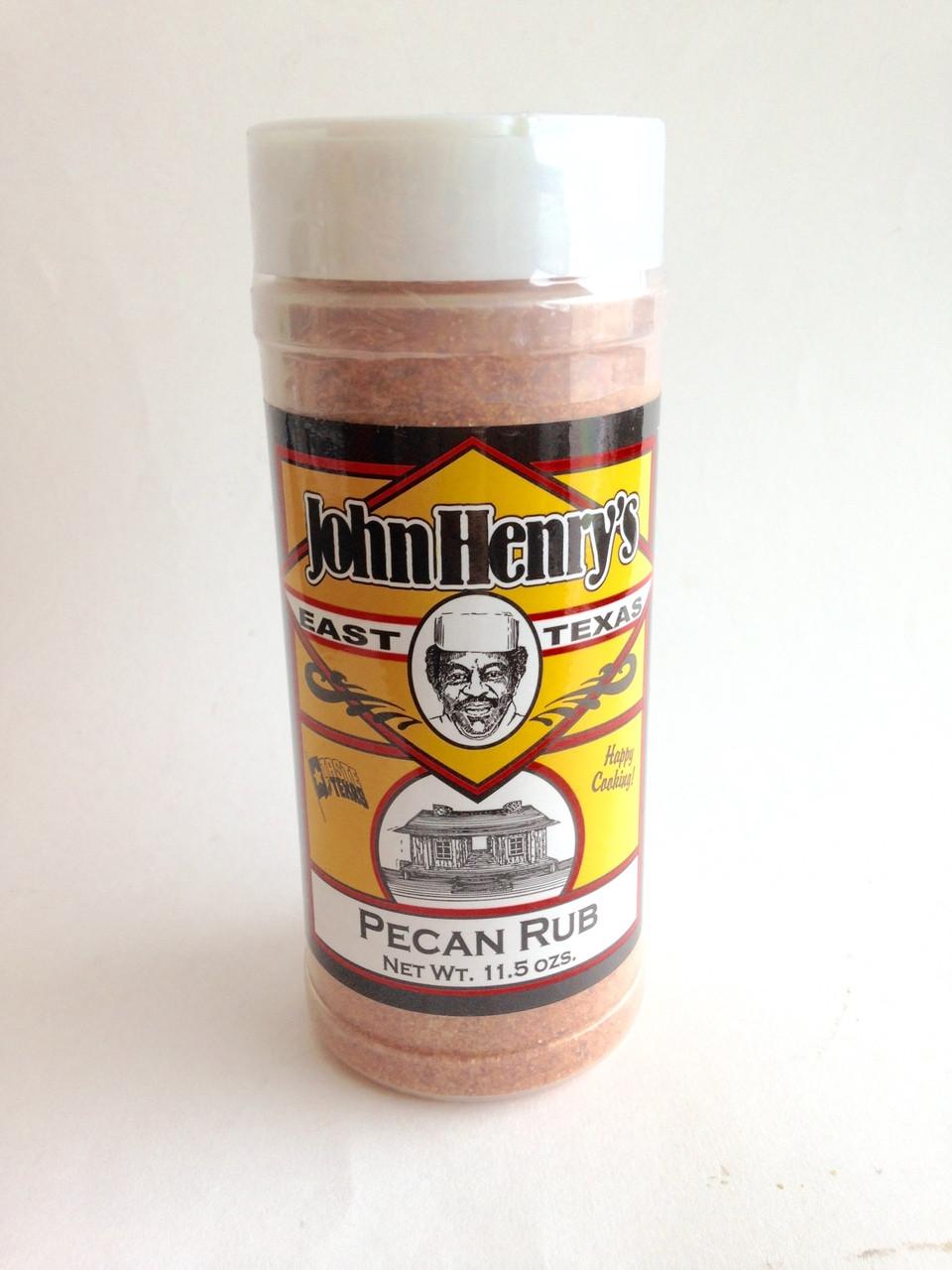 John Henry S Pecan Rub 11 5 Oz 55112