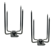 "Rotisserie Forks 5/8"" for Hexagon Spit Rods"