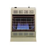 Hearthrite Blue Flame Propane Heater, T-stat, 20k