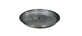 "25"" Stainless Steel Round Fire Pit Bowl Pan"
