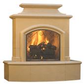 American Fyre Designs Mariposa Vented Fireplace, Sedona