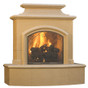 American Fyre Designs Mariposa Vented Fireplace, Sedona