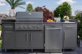"""Delta Heat 32"""" Challenger Design Outdoor Kitchen Package"""