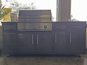 "Delta Heat 32"" Challenger Design Outdoor Kitchen Package"