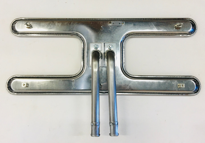 MHP and PGS Stainless Steel H Twin Burner Kit