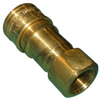 Natural Gas Brass Quick Connect Coupling 1/2