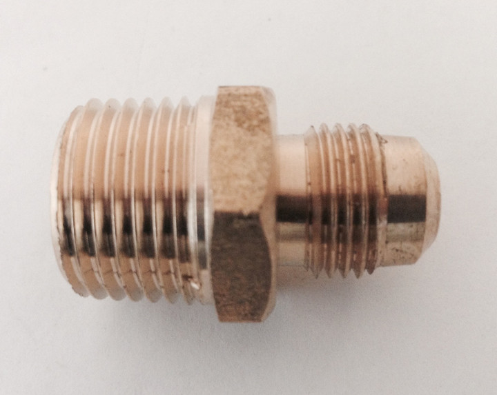 3/8-in Flare Male x 1/2-in Male Pipe Fitting