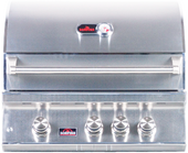 "Bonfire 28"" 3 Burner Built-in Premium Grill"