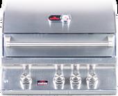 "Bonfire 28"" 3 Burner Built-in Premium Grill"