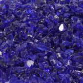 American Fireglass Dark Blue Fire Pit Glass