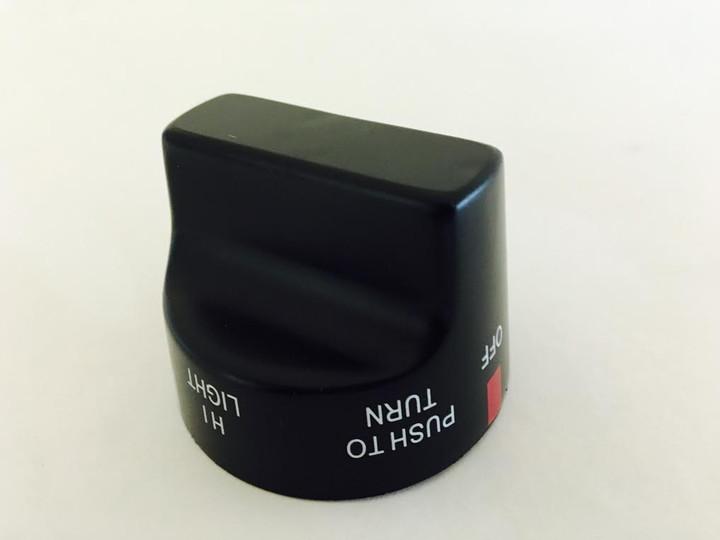 ProFire top of black knob