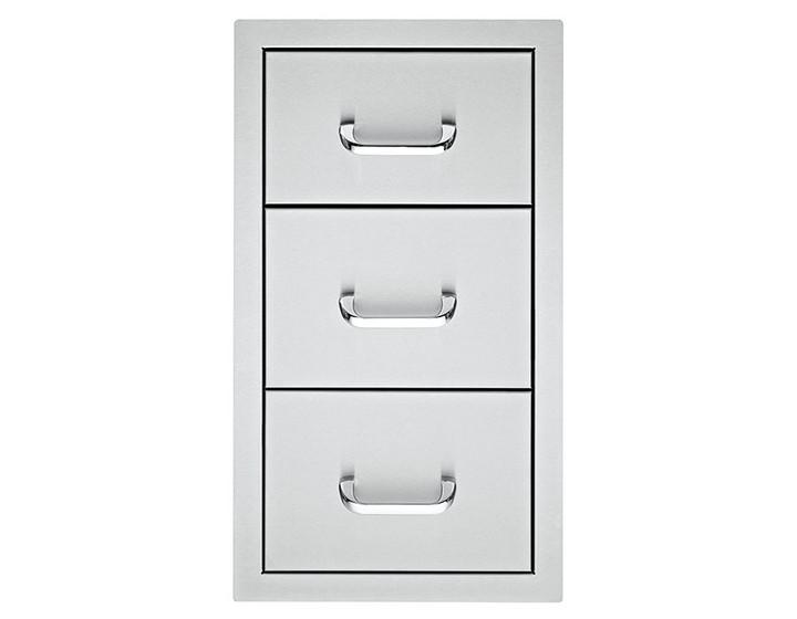 DELSOL Delta Triple Storage Drawers