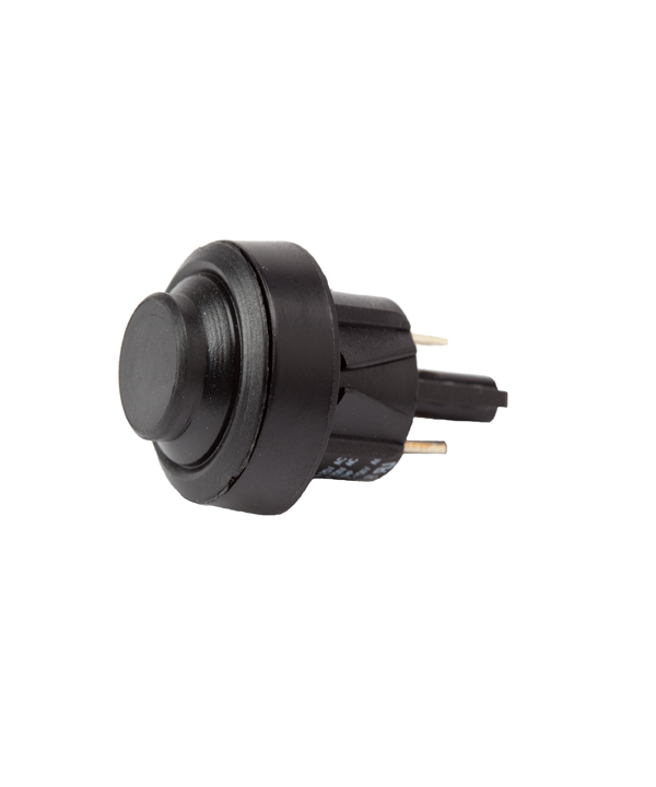 Solaire Snap On Switch Igniter Black Push button