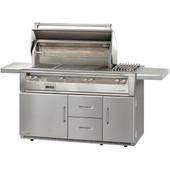 "Alfresco ALXE 56"" Grill Refrigerated Cart"