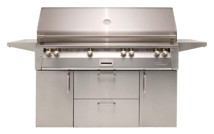 "Alfresco ALXE 56"" Jumbo Grill on Cart"