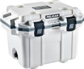 Pelican White/Grey 30QT Elite Cooler