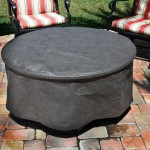 Firetainment Full Round Fire Table Cover