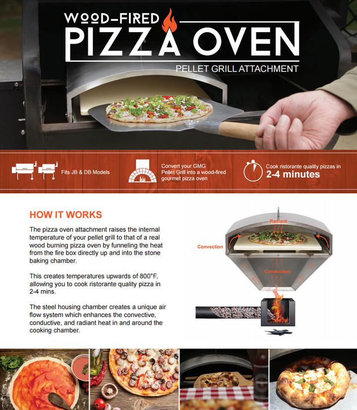 Green Mountain Grills Pizza Oven Attachment
