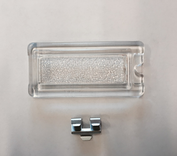 Lynx Glass Light Lens Cover with Clip - 32322