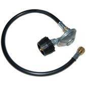 LP hose w QCC-I type one regulator