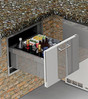 """Alfresco 26"""" Undercounter Insulated Ice Drawer and Beverage Center - AXE-ID"""
