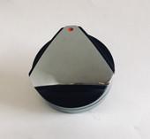 S13195 Delta Heat Black Knob Front