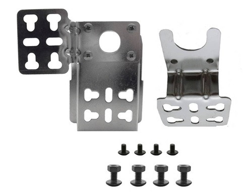 Universal Stainless Steel Rotisserie Mounting Bracket